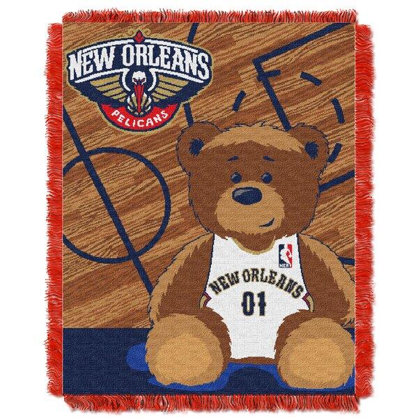 NBA Pelicans Half Court Baby Throw by Northwest Co.