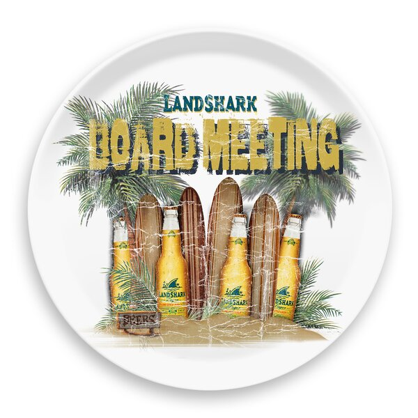 Margaritaville Board Meeting Round Melamine Platter by Margaritaville