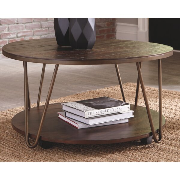 Hollington Coffee Table With Storage By Ebern Designs