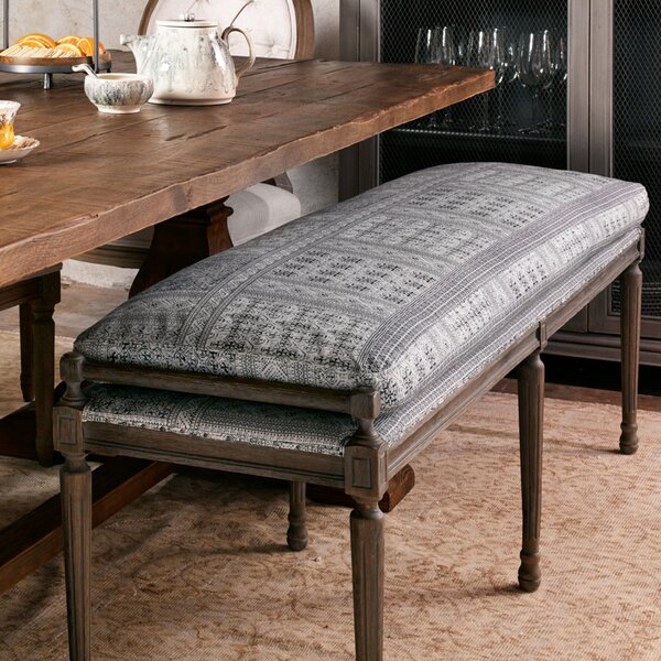 Lalonde Upholstered Bench by Bungalow Rose