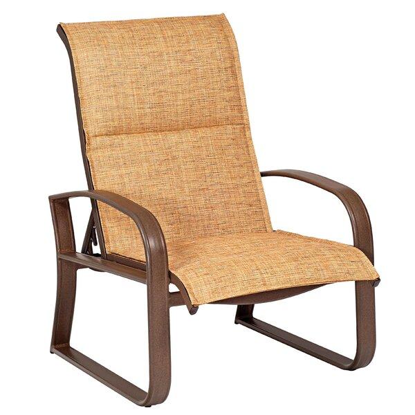 Cayman Isle Sling Adjustable Patio Chair by Woodard