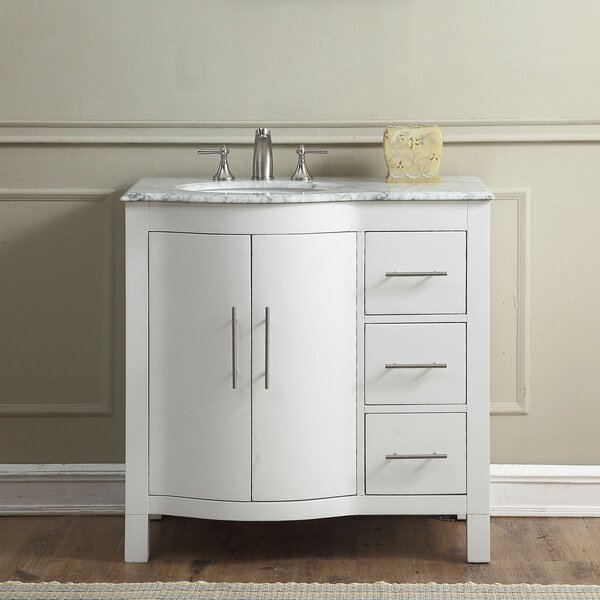 Bissette 36 Single Bathroom Vanity Set by Andover MillsBissette 36 Single Bathroom Vanity Set by Andover Mills