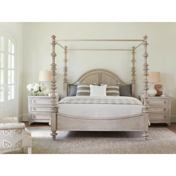 Malibu Canopy Bed by Barclay Butera