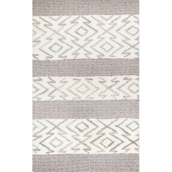 Lolley Gray Area Rug by Gracie Oaks