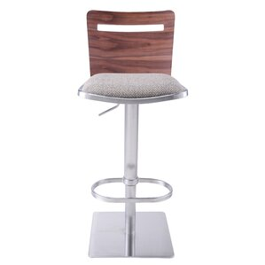 Danika Adjustable Height Swivel Bar Stool  sc 1 st  AllModern & Modern Adjustable Bar Stools + Counter Stools | AllModern islam-shia.org