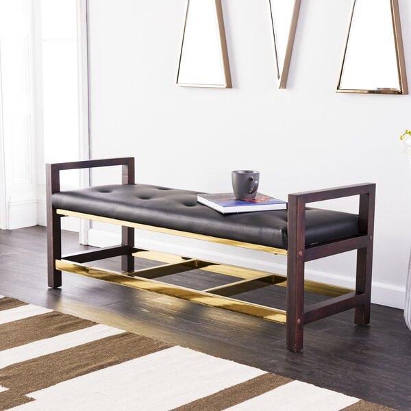 Heinz Upholstered Bench by Mercer41