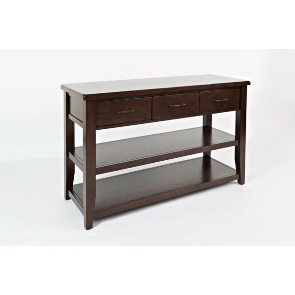 Hickey Console Table by Alcott Hill