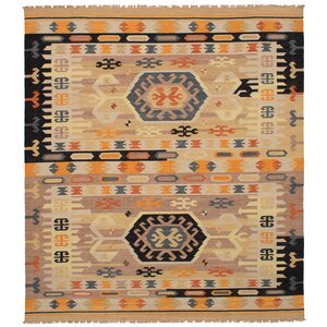 Norwell Wool Tan Area Rug