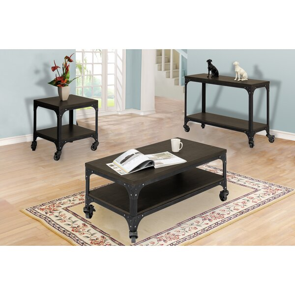Burbank 3 Piece Coffee Table Set by Williston Forge Williston Forge