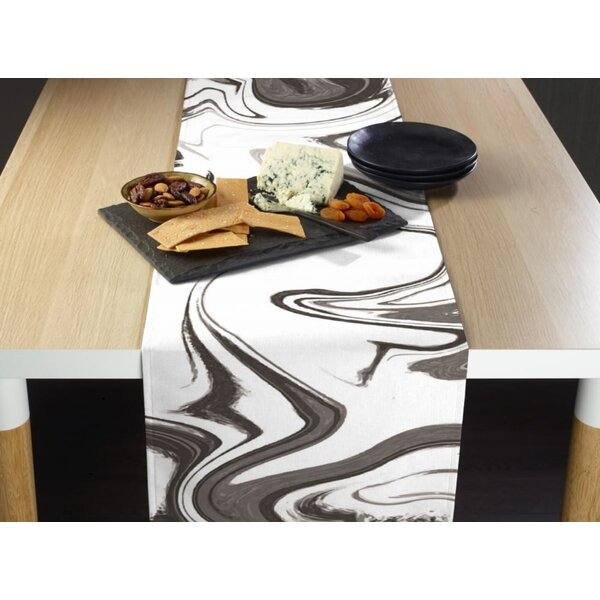 Eila Marble Table Runner by Wrought Studio