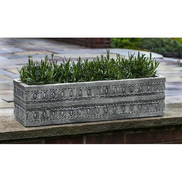 Cast Stone Planter Box by Campania International