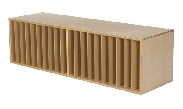 Stackable 2 Compartment Shelving Unit by Childcraft