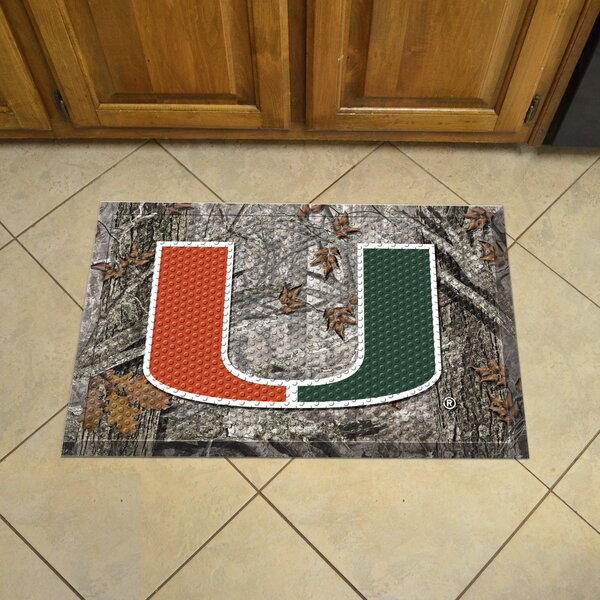 University of Miami Doormat by FANMATS