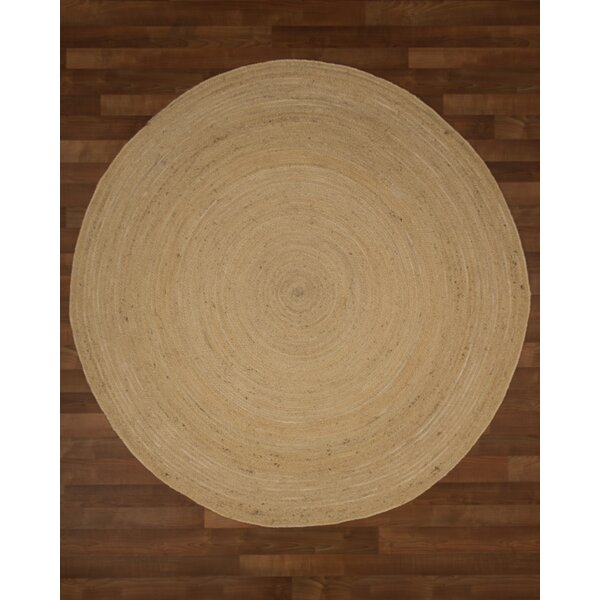 Cairo Jute Hand Woven Natural Area Rug by Natural Area Rugs