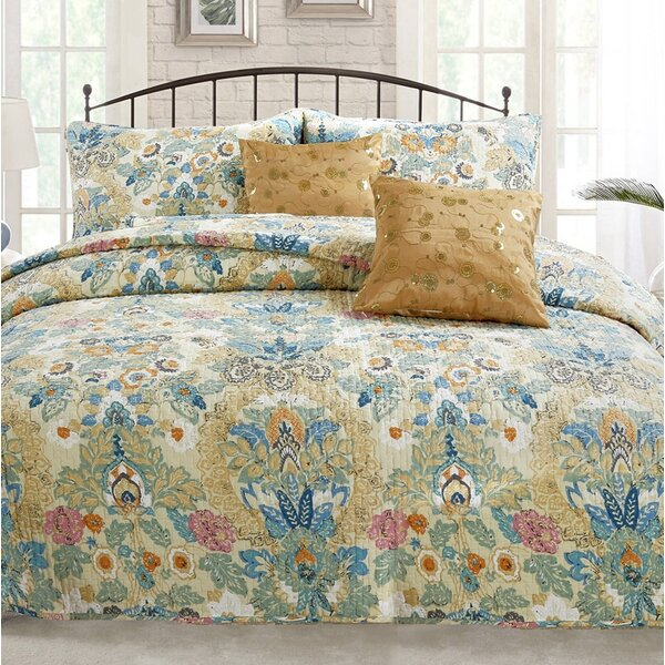 Pylle Hill Reversible Quilt Set by World Menagerie
