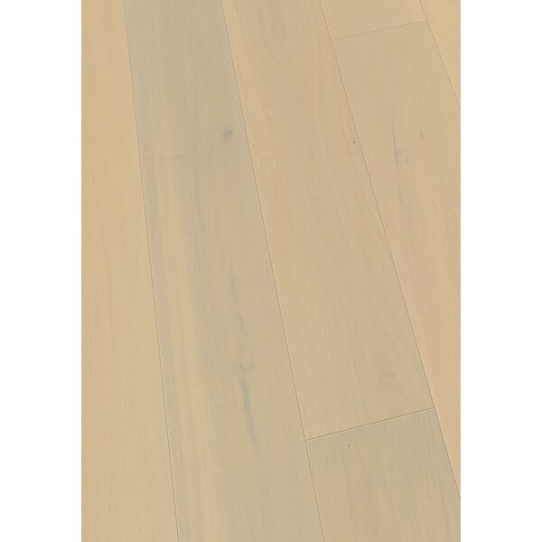 7.5 Engineered Oak Hardwood Flooring in Brushed Alabaster Oak by Maritime Hardwood Floors