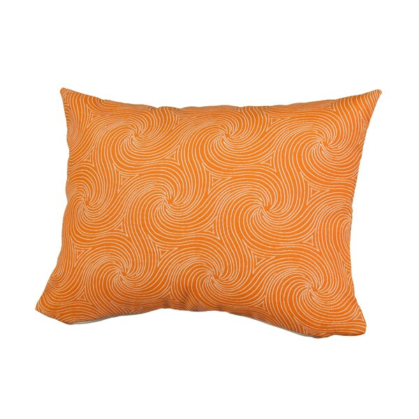 Waves Outdoor Throw Pillow by Rennie & Rose Design Group