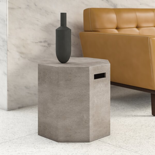 Larson Drum End Table By Upper Square™