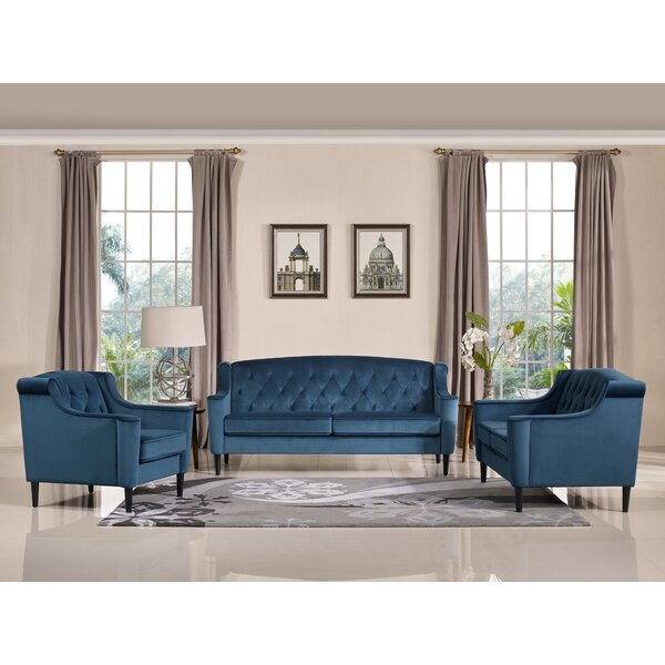 Burton Latimer 3 Piece Living Room Set by Mercer41