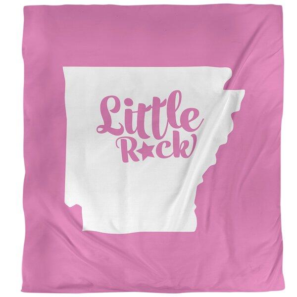 Little Rock Arkansas Single Duvet Cover