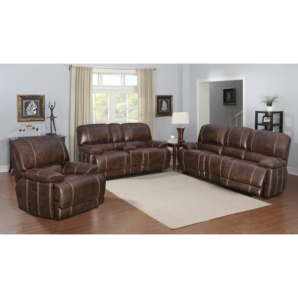 Rutkowski Reclining Configurable Living Room Set by Charlton Home