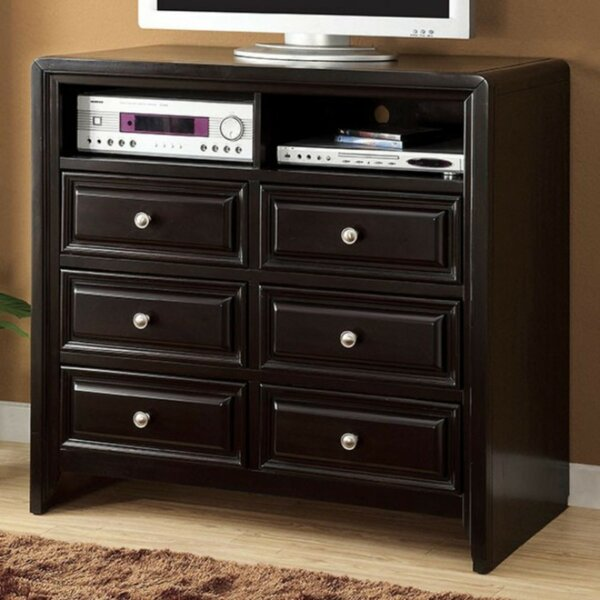 Ballyrashane Transitional Media 6 Drawer Chest by Canora Grey Canora Grey