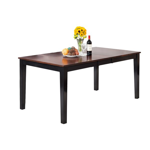 Downieville-Lawson-Dumont Solid Wood Dining Table by Loon Peak