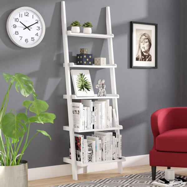 Three Posts Gilliard Ladder Bookcase Reviews Wayfair