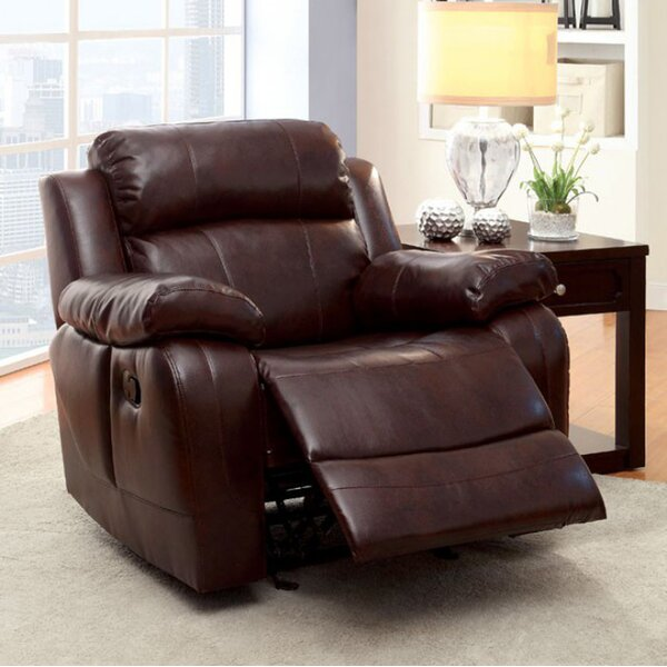 Yasmeen Transitional Manual Recliner [Red Barrel Studio]