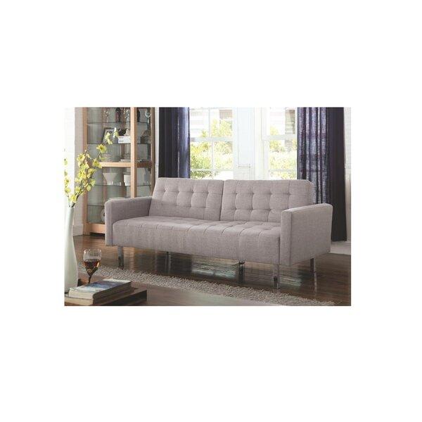 Best #1 Brogan Convertible Sofa By Latitude Run Great price