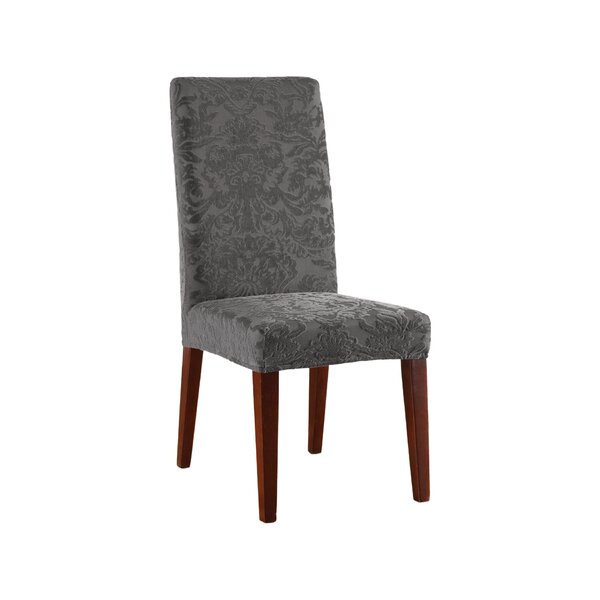 Stretch Jacquard Damask Dining Chair Slipcover by Sure Fit