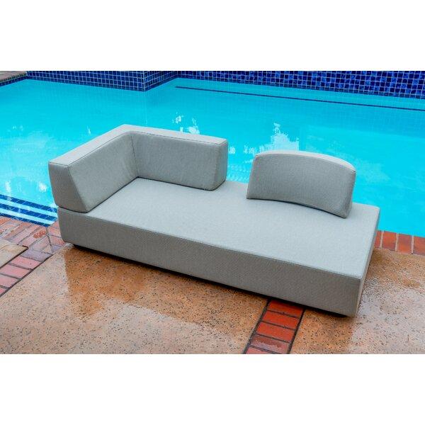 Takia Chaise Lounge with Cushion