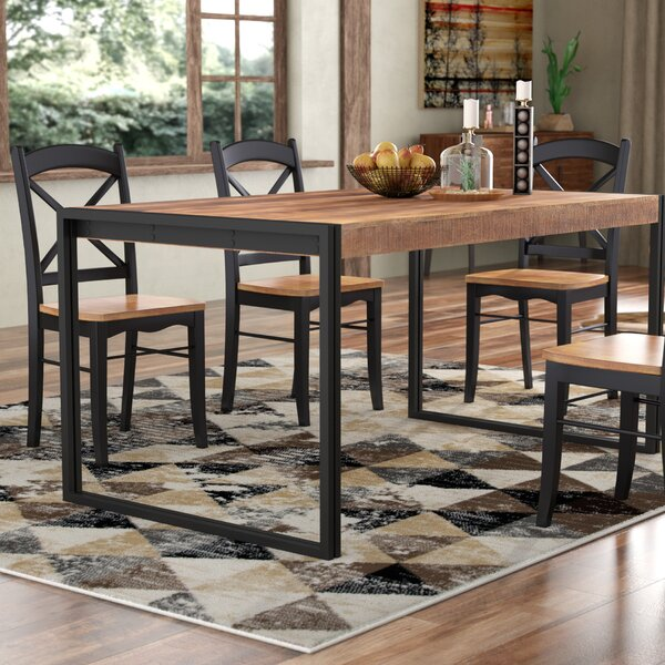 #1 Haleigh Dining Table By Union Rustic Best
