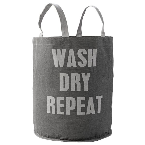 Wingman Wash Dry Repeat Laundry Bag by Zipcode Design