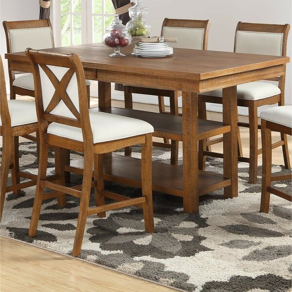 Trisha Counter Height Dining Table by Gracie Oaks