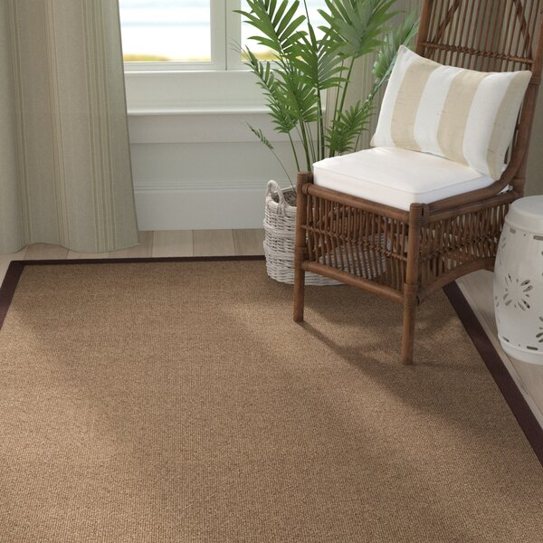 Christiano Brown Area Rug by Rosecliff Heights