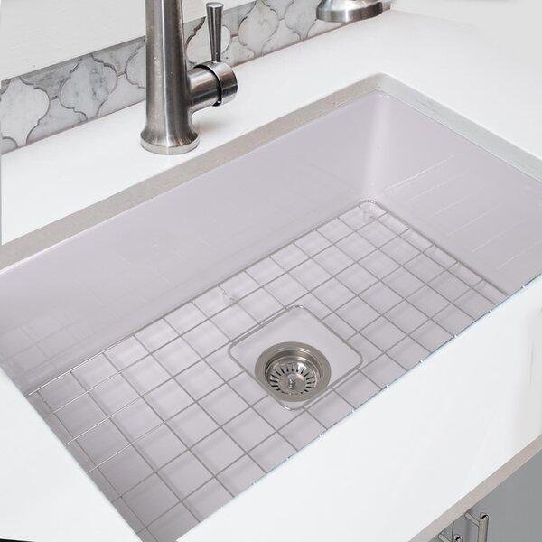 Dualmount Fireclay Cape 32 L x 19 W Kitchen Sink
