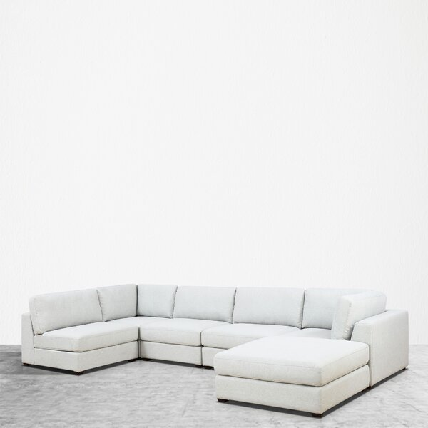 Kendrick Reversible Modular Sectional With Ottoman By Orren Ellis New