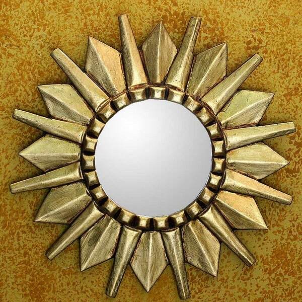 Sun Design Mohena Wall Mirror by Novica