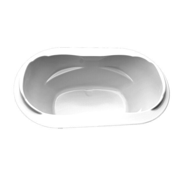 73 x 42 Drop-In Soaking Tub by American Acrylic