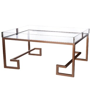 Russell Coffee Table with Tray with Tray Top