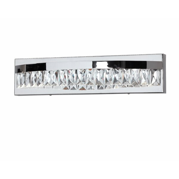 Early 1-Light LED Bath Bar by Orren Ellis
