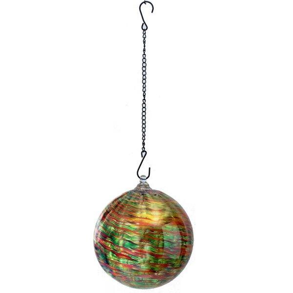Hanging Stripe Swirl Gazing Globe by VCS