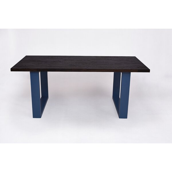 Kade Solid Wood Dining Table by Longshore Tides