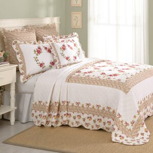 Luise Cotton Quilted Bedspread