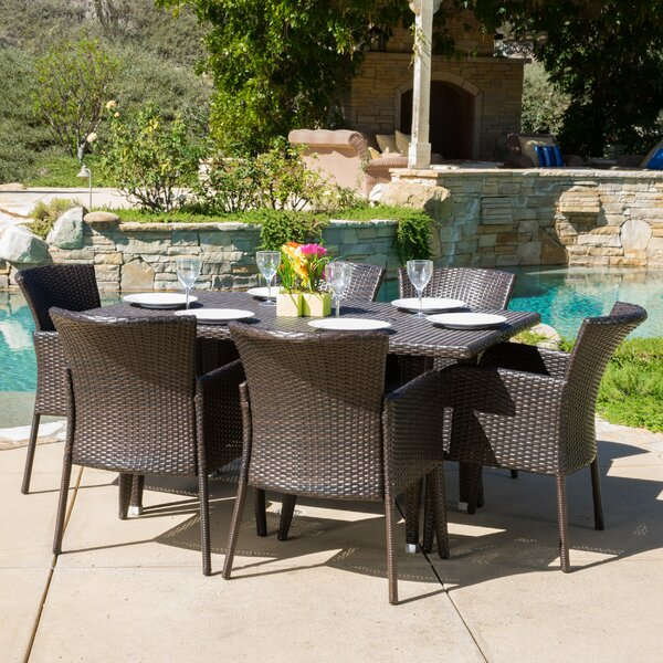 Bittle 7 Piece Dining Set by Ivy Bronx