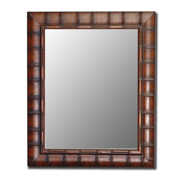 Rectangle Bamboo Wall Mirror by Bayou Breeze