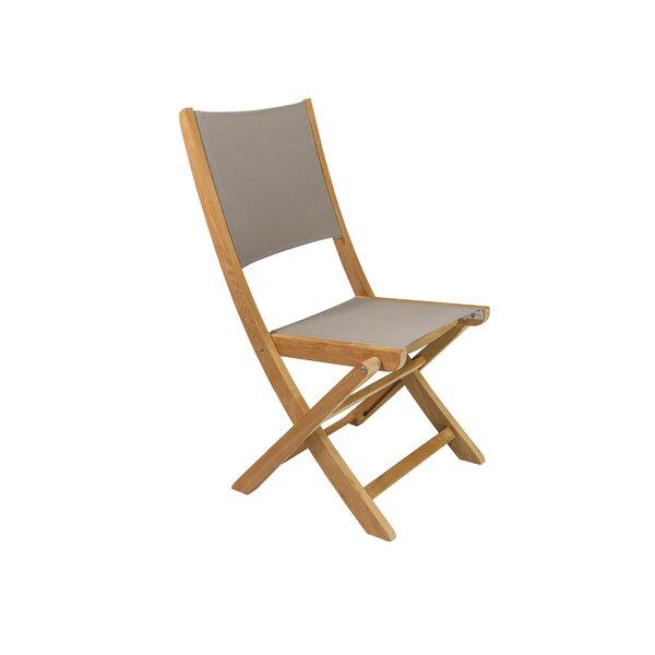 Stella Folding Teak Patio Dining Chair (Set of 2) by HiTeak Furniture