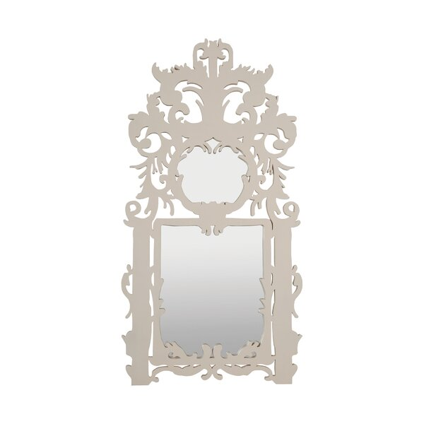 Acanthus Wood Accent Wall Mirror by One Allium Way
