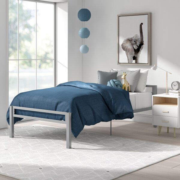 Doshie Metal Twin Platform Bed By Mack & Milo by Mack & Milo Spacial Price